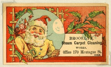 Brooklyn Museum: [Advertising cards]