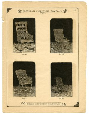 Brooklyn Museum: Brooklyn Furniture Co. : illustrated catalogue : warerooms, 559 to 571 Fulton Street, Brooklyn, N.Y.