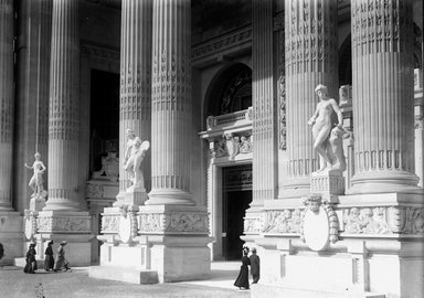 Brooklyn Museum: Visual materials [6.1.013]: Paris Exposition photographs.