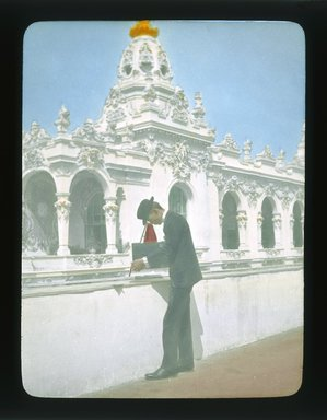 Brooklyn Museum: Visual materials [6.1.015]: Paris Exposition lantern slides.