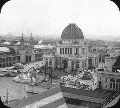 Brooklyn Museum: Visual materials [6.1.016]: World's Columbian Exposition lantern slides.