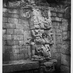 Copan. East Side of Doorway Leading to the Inner Chamber of Temple.