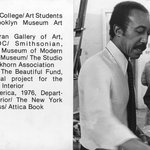 Brooklyn Museum Art School faculty. Arthur Coppedge, ca. 1979.