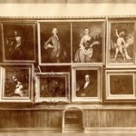 Brooklyn Art Association, first chronological exhibition of American art [March 1872]. Installation view 01.