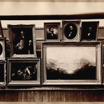 Brooklyn Art Association, first chronological exhibition of American art [March 1872]. Installation view 03.