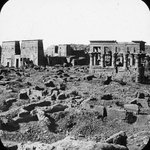 Views, Objects: Egypt. Philae. View 11: les temples a Philae.