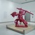 Yoram Wolberger: Red Indian #4 (Spearman), July 22, 2009 through July 4, 2010 (Image: DIG_E2009_Wolberger_02_PS2.jpg. Brooklyn Museum photograph, 2009)