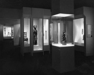 African Gallery (installation), date unknown, 1976 through date unknown, 20th Century (Image: .  photograph, )