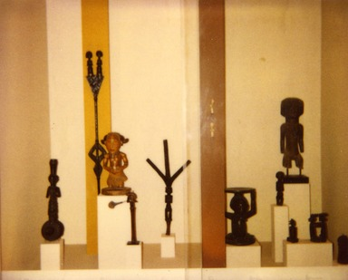 African Gallery (installation), May 26, 1982 through date unknown, 20th Century (Image: .  photograph, )