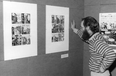 Brooklyn's Comic Book Artists, October 9, 1974 through November 3, 1974 (Image: .  photograph, )