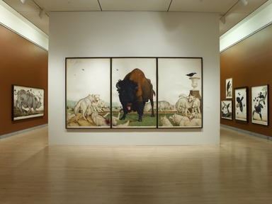 Tigers of Wrath: Watercolors by Walton Ford, November 3, 2006 through January 28, 2007 (Image: .  photograph, )