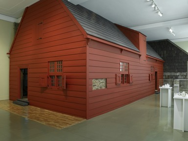 Brooklyn Museum: Jan Martense Schenck House, 1676 (long-term installation).