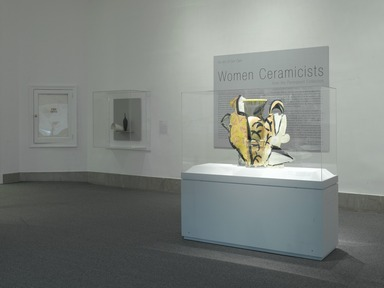 An Art of Our Own: Women Ceramicists from the Permanent Collection, March 23, 2007 through July 26, 2008 (Image: .  photograph, )
