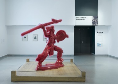 Yoram Wolberger: Red Indian #4 (Spearman), July 22, 2009 through July 4, 2010 (Image: .  photograph, )