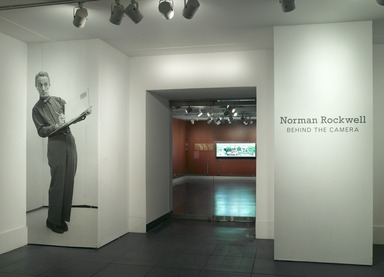 Norman Rockwell: Behind the Camera, November 19, 2010 through April 10, 2011 (Image: .  photograph, )