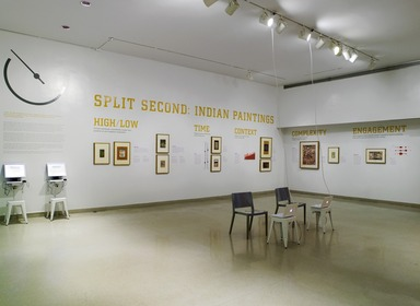 Split Second: Indian Paintings, July 13, 2011 through January 1, 2012 (Image: .  photograph, )