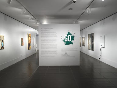 Brooklyn Museum: GO: a community-curated open studio project