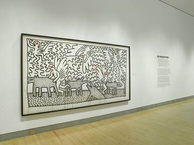 Keith Haring: 1978-1982, March 16, 2012 through July 8, 2012 (Image: .  photograph, )