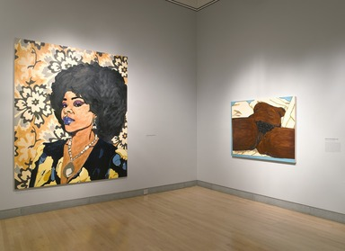Brooklyn Museum: Mickalene Thomas: Origin of the Universe