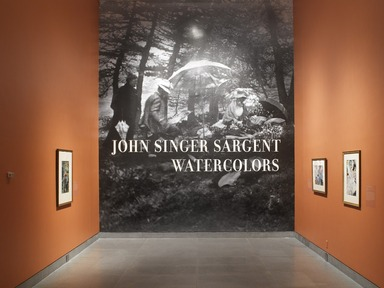John Singer Sargent Watercolors, April 5, 2013 through July 28, 2013 (Image: .  photograph, )