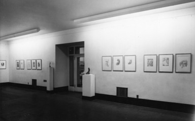 Drawings and Sculpture by Lajos d'Ebneth, December 17, 1947 through January 25, 1948 (Image: .  photograph, )