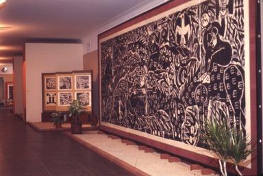Woodcut Screens of Shiko Munakata, January 9, 1968 through February 18, 1968 (Image: .  photograph, )