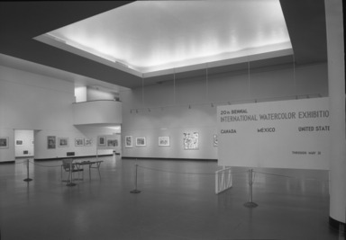 International Watercolor Exhibition, 20th Biennial, April 7, 1959 through May 31, 1959 (Image: .  photograph, )