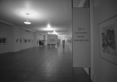 National Print Exhibition, 13th Biennial, March 6, 1962 through June 3, 1962 (Image: .  photograph, )