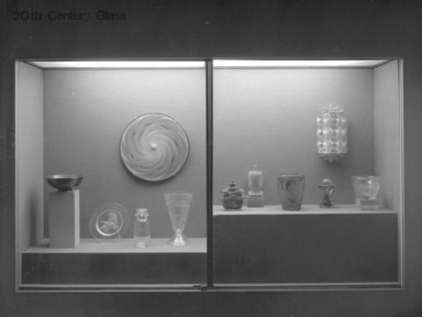 20th-Century Glass (installation)., February 1979 through date unknown, 1979 (Image: .  photograph, )