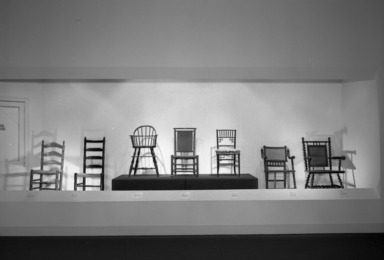 The Turned Wooden Object, May 4, 1983 through February 26, 1984 (Image: .  photograph, )