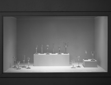 English Glass: Selections from the Leckie Collection of the Brooklyn Museum, November 16, 1988 through March 20, 1989 (Image: .  photograph, )