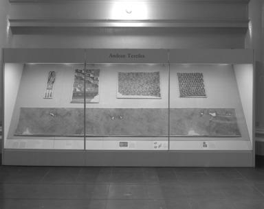 Andean Textiles: Selz Case., date unknown, 1993 (Image: .  photograph, )