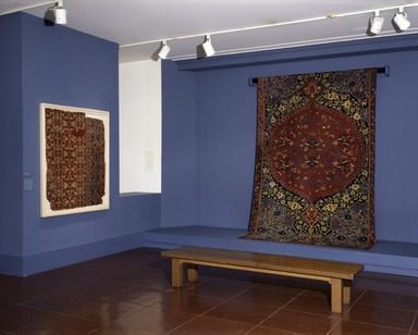 Magic Carpets: Selections from the Brooklyn Museum Collection (long-term installation), November 6, 1996 through Fall 1998 (Image: .  photograph, )