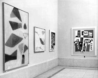 First Biennial Inter-American: Paintings and Prints, June 6, 1958 through August 24, 1958 (Image: .  photograph, )