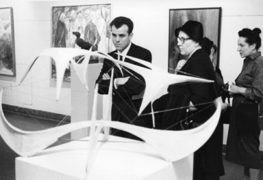 Brooklyn & Long Island Artists Biennial Exhibition, January 26, 1960 through March 13, 1960 (Image: .  photograph, )