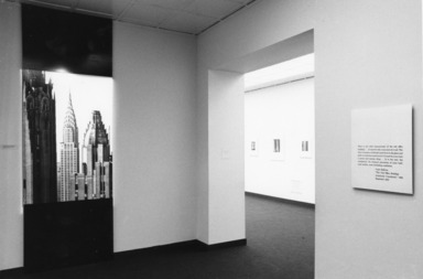 Skyscraper Style: Art Deco New York, January 15, 1975 through March 2, 1975 (Image: .  photograph, )