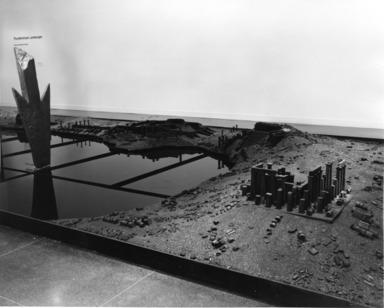 Anne & Patrick Poirier: Thunderstruck Landscape, September 21, 1984 through November 18, 1984 (Image: .  photograph, )