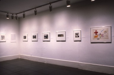 Robert Fichter; Photography and Other Questions, March 10, 1985 through May 13, 1985 (Image: .  photograph, )
