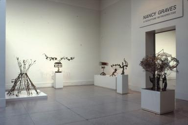 Nancy Graves: A Sculpture Retrospective, December 11, 1987 through February 29, 1988 (Image: .  photograph, )