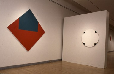Leon Polk Smith: American Painter, September 29, 1995 through January 7, 1996 (Image: .  photograph, )