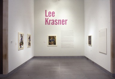 Brooklyn Museum: Lee Krasner