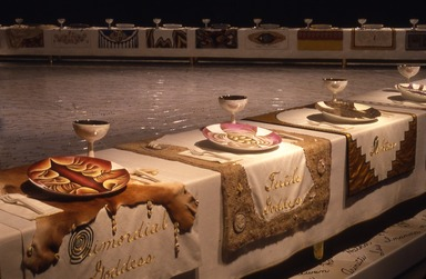Brooklyn Museum: Judy Chicago: The Dinner Party