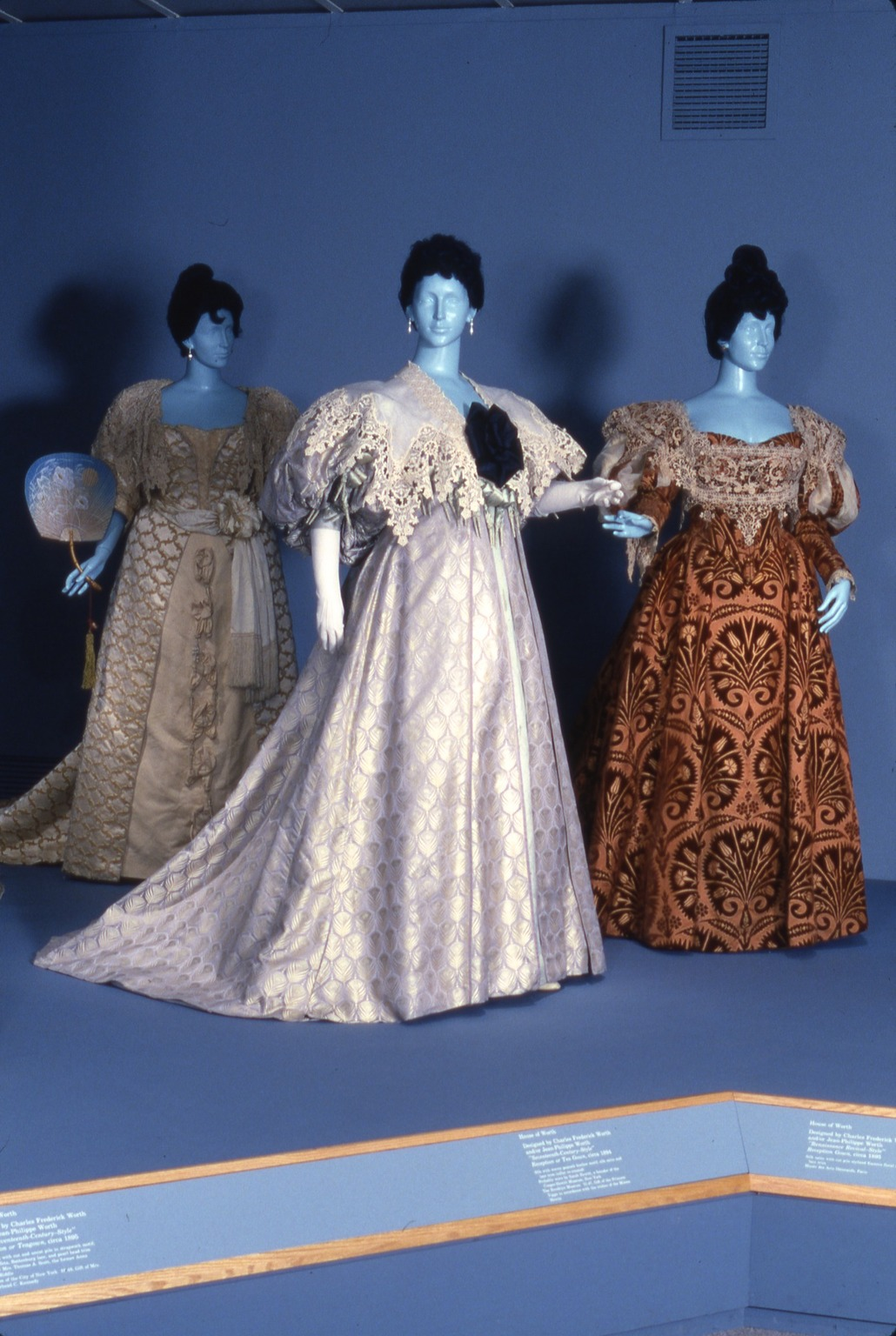 Brooklyn Museum: Opulent Era: Fashions of Worth, Doucet and Pingat
