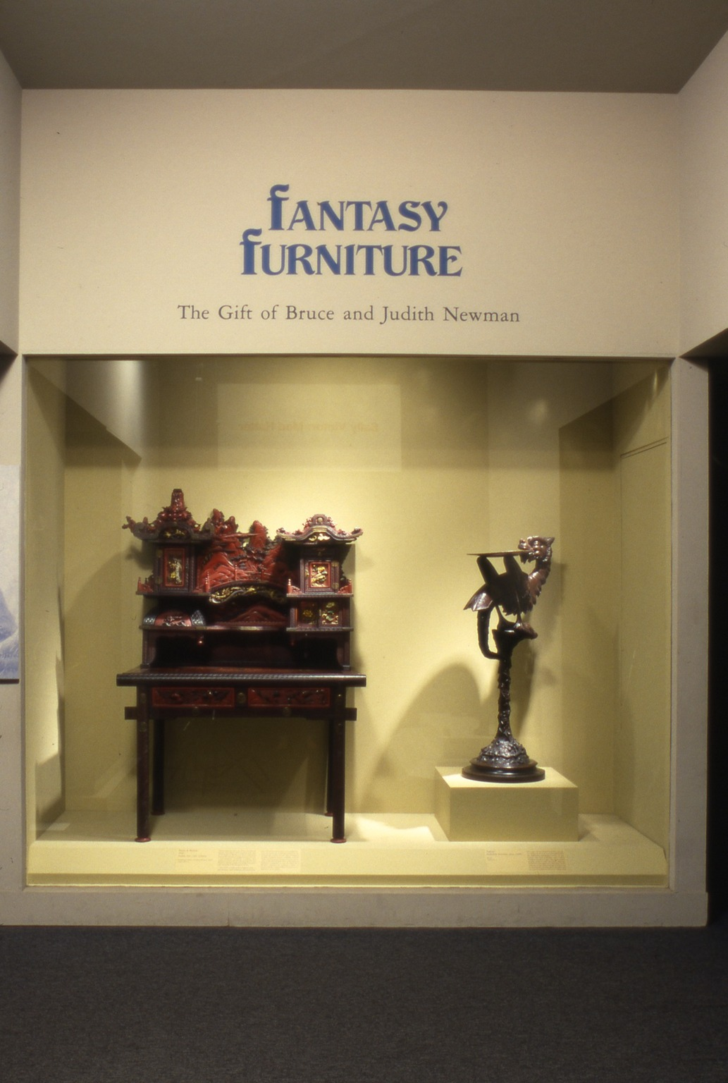 Brooklyn Museum: Fantasy Furniture: A Gift Collection of Judith & Bruce Newman