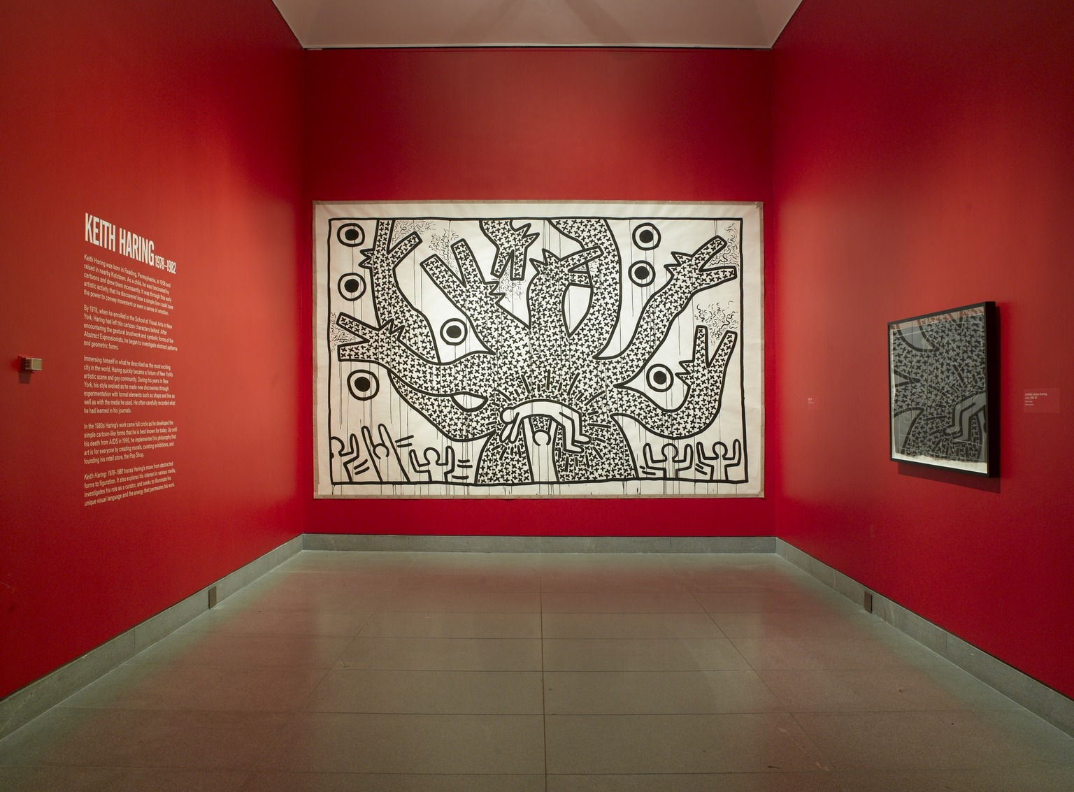 Brooklyn Museum: Keith Haring: 1978-1982