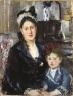 Portrait of Mme Boursier and Her Daughter (Portrait de Mme Boursier et de sa fille)