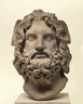 Marble Head of Serapis