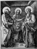 Saint Veronica Between Saints Peter and Paul