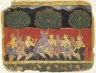 Krishna and the Gopis, Leaf from a Bhagavata Purana Series