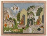 Arjuna's Penance, Scene from a Mahabharata Series